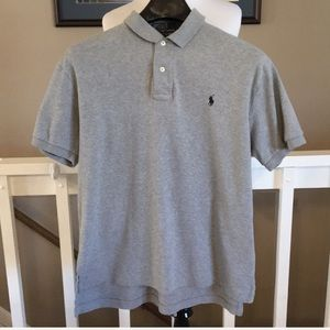 Polo by Ralph Lauren Heather Gray Polo Size M